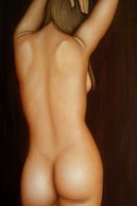 La mia danza – Ma dance olio su tela 100x50