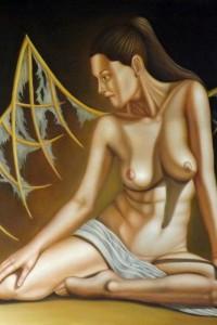 Il sogno di Icaroolio su tela 100×100